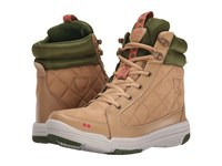 Ryka Aurora Hemp Tan Pesto Coral Snowline Ecru Bronzeen Women's Shoes