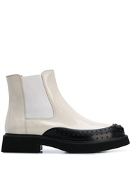 Tod's Two Tone Ankle Boots 60