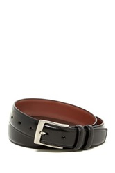 Original Penguin Milled Leather Belt Black