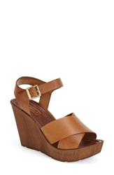 Topshop 'Worldie' Wedge Sandal Women Tan