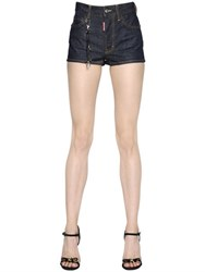 Dsquared Dalma Stretch Cotton Denim Shorts