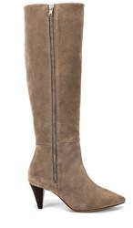 Lilirosa Boot In Gray. Taupe