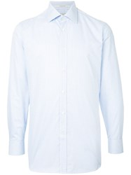 Gieves And Hawkes Classic Fitted Shirt Blue