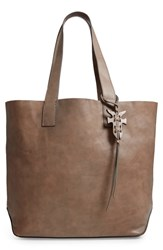 Frye Carson Leather Tote Grey