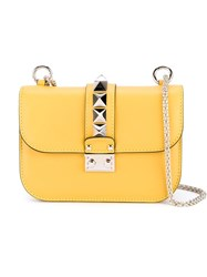 Valentino Garavani Small Chain Shoulder Bag Yellow And Orange