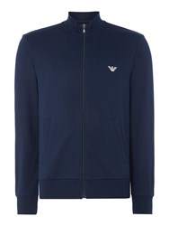 Emporio Armani Men's Terry Zip Up Sweatshirt Navy