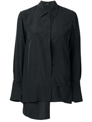 Joseph Claudi Top Toile Blouse Black