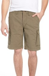 Tailor Vintage Stretch Canvas Cargo Shorts Army
