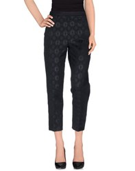 Jucca Trousers Casual Trousers Women Dark Blue
