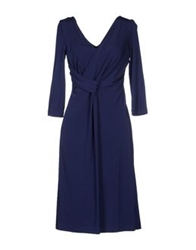 Mine Knee Length Dresses Dark Blue