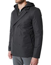 Mpg Convertible Lincoln Double Breasted Jacket Black
