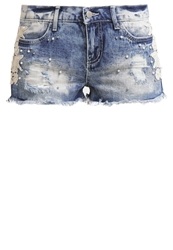 Evenandodd Denim Shorts Blue Denim