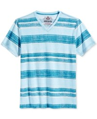 American Rag Men's Painters Stripe T Shirt Only At Macy's Blue Storm