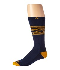 Wigwam West Rim Pro Navy Men's Crew Cut Socks Shoes