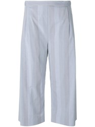 Stephan Schneider Intuition Cropped Trousers Women Cotton Xs Blue