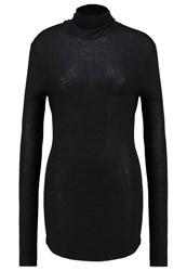 Earnest Sewn Lou Long Sleeved Top Black