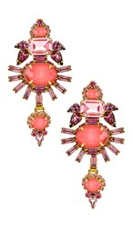 Elizabeth Cole Henning Earrings In Pink.