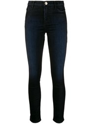 Twin Set Skinny Cropped Jeans Black