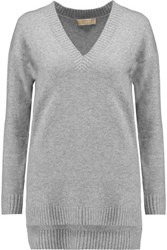 Michael Michael Kors Cashmere Blend Sweater Gray