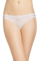 Betsey Johnson Women's Bridal Thong Wifey