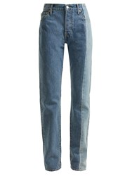 Vetements X Levi's Reworked Straight Leg Jeans Denim