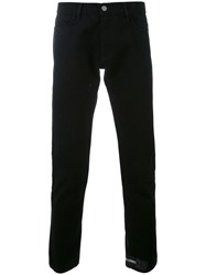 424 Fairfax Straight Leg Jeans Men Cotton 32 Black
