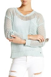 Roxy Turnabout Crew Neck Sweater Blue