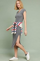 Cloth And Stone Riley Maxi Dress Dark Grey