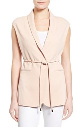 Women's Vince Camuto Belted Vest Moonbeam