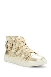 Godiva Chantel Vegan Leather Sneaker Metallic