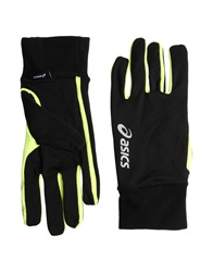 Asics Gloves Black