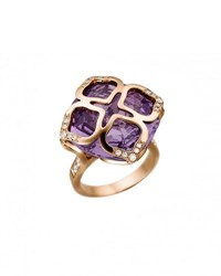 Chopard Imperiale Amethyst Ring With Diamonds