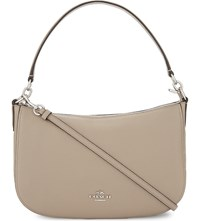Coach Chelsea Grained Leather Cross Body Bag Sv Stone