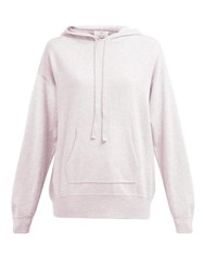 Allude Wool Blend Hooded Sweater Light Pink
