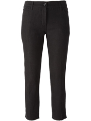 Ann Demeulemeester Cropped Slim Fit Trousers