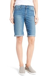 Nydj Women's Briella Stretch Denim Roll Cuff Shorts