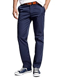 Thomas Pink Voltaire Regular Fit Chino Pants Navy