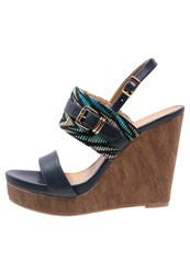 Anna Field High Heeled Sandals Dark Blue