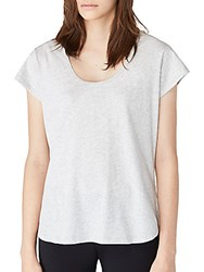 Ugg Solid Cotton Tee White