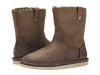 Ugg Sequoia Chocolate Leather Women's Boots Brown