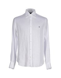 Brooksfield Shirts Shirts Men White
