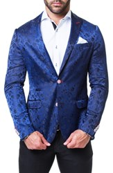 Maceoo Descartes Cloud Blazer Blue