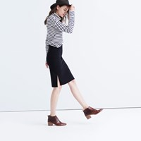 Madewell Column Side Slit Skirt