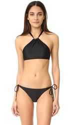 Vix Swimwear Thai Halter Top Black