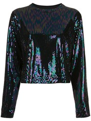Rta Sequin Embroidered Top 60