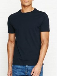 Reiss Bless Crew Neck T Shirt Navy