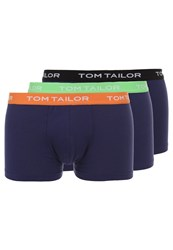 Tom Tailor Buffer 3 Pack Shorts Blue Dark Blue