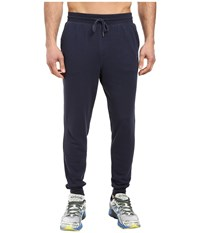 New Balance Classic Tailored Sweatpants Navy Men's Casual Pants
