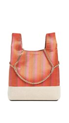Hayward Mini Chain Bag Orange Stripe