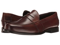 Nunn Bush Noah Beef Roll Penny Slip On Brown Men's Slip On Dress Shoes